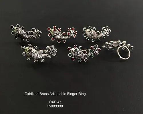 German Silver Finger Rings