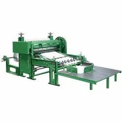 Rotary Reel To Sheet Cutter (Gear Change Model)