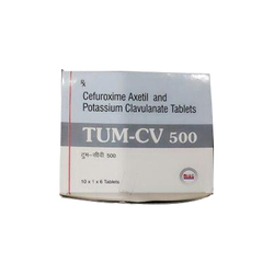 Cefuroxime Axetil and Potassium Clavulanate Tablets