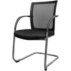 Visitor Black Color Stylish Chair