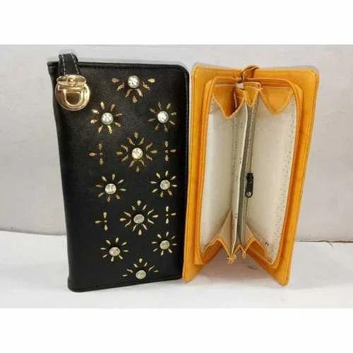 af10caa35384 Rexine Clutch Bag Ladies Stylish Purse