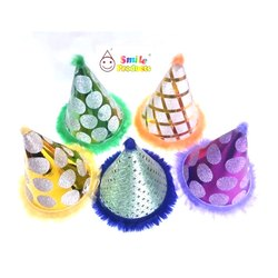 Shimmer Type Birthday Party Cap