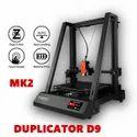 Wanhao Duplicator 9/500 Mark II FDM 3D Printer