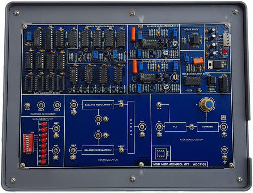 Digital Communication Trainers - TDM Pulse Code Modulation Kit