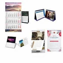 Digital And Offset Printing Mutually Agreed Calendar Printing Service, In Pan India