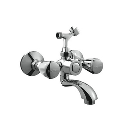 Hindware 330018CP Wall Mixer With Hand Shower Arrangement