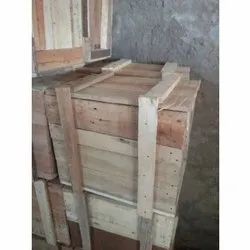 Rectangle Hard Wood Packaging Wooden Box, 16-25 mm, Box Capacity: 1-200 Kg