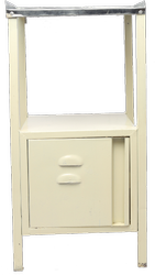 Smart Care Bed Side Locker With S.S.. Top Hospital Furniture