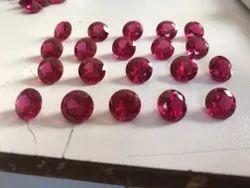 American Diamond Ruby Round