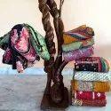 Sari Bohemian Kantha Quilts