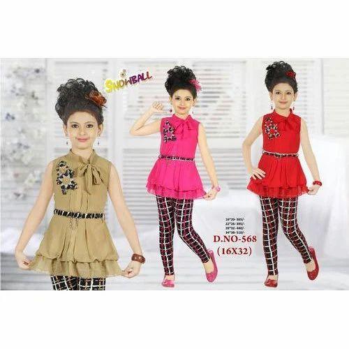 abc601d34 Girls Cotton Kids Western Wear, Rs 390 /piece, Bhavani Trading   ID ...