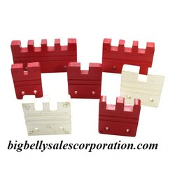 Finger Busbar Insulator RED and White