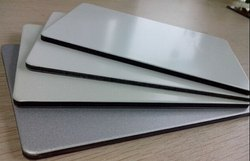 Bright Silver Aluminium Composite Panels