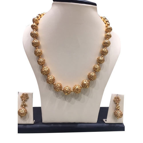 8c6319c86 Golden Designer Imitation Jewellery Set, Rs 7000 /set, MGR Gold ...