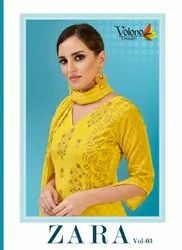 Zara Ladies Suit Fabric Vol 3 by Volono