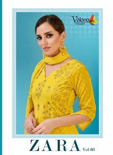 66f48c4e9a Zara Ladies Suit Fabric Vol 3 By Volono