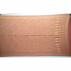 All Over Peach Banarasi Georgette Bandhani Dupatta