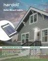 10W COB LED Solar Street Lights