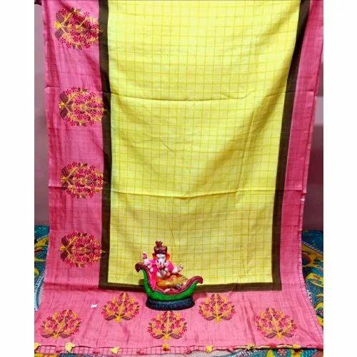 Manufacturer of Handloom Saree & Linen Saree by Murshidabad Saree