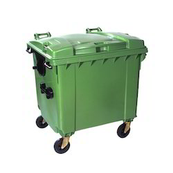 Plastic Wheel Waste Bins