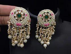 Hand Painted   Earrings.