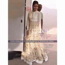 Santoon White Gown