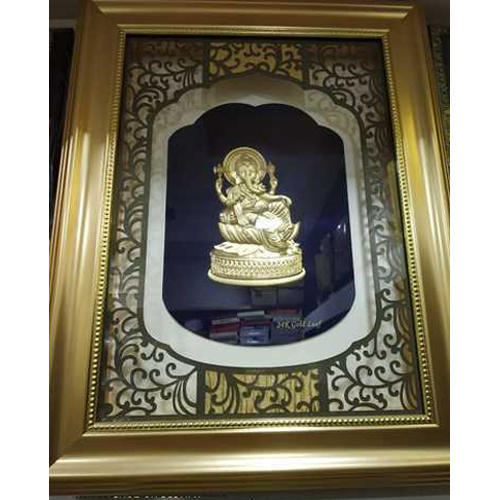 24 Carat Corporate Gold Leaf Frame At Rs 16500 Piece Gold Photo