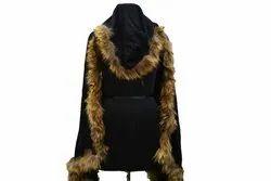 Hooded Fur Scarf