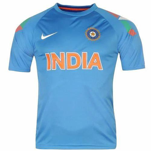 Sports T Shirt India Cricket Team T Shirt Manufacturer