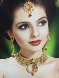 Semi Bridal Necklace Sets