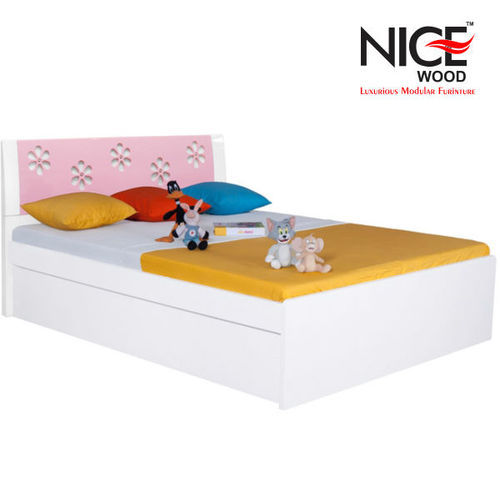 NICEWOOD Wooden Children Bed