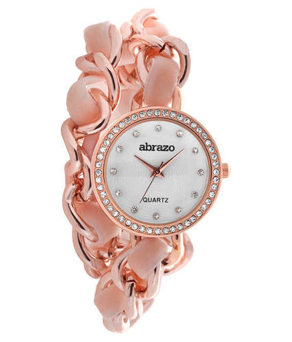 5a6623656f8 Baby Pink Analog Exclusive Watch For Girls