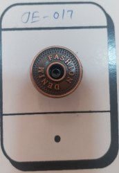 Metal Jeans Button, Size/dimension: 20mm