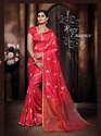 Silk Stylish Designer Party Wear Saree, Length: 5.5 M