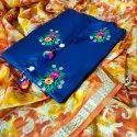 Cotton Glaze Fancy Dress Material