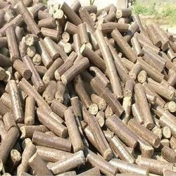 Saw Dust Biomass Briquettes, Thickness: 90mm, for Boiler