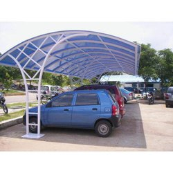 FRP Modular Car Parking Shed, Thickness: 1-2 Mm