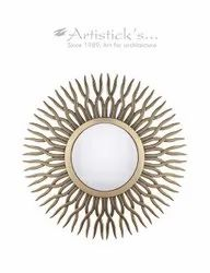 Decorative Copper Mirror