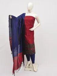 Dhaman Silver Zari Dress Material