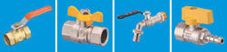 Gas Ball Valve 1/4 to 1/2