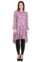 Cottinfab Women's High Low Kurti