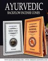 Ayurvedic Sandal Backflow Cones 10X12Packs