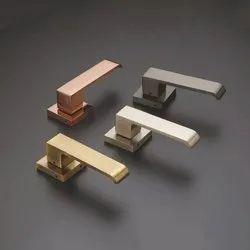 Iojets Door Modern Brass Mortise Handle