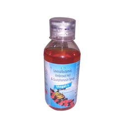 Levosalbutamol, Ambroxol HCI & Guaiphensin Syrup