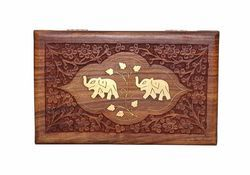 Wooden Color Jewelry Box