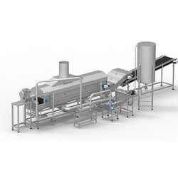 Continuous Potato Chips Fryer with Deoiling Conveyor
