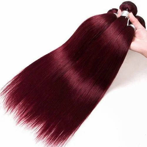 Colored Straight Hair Extension for Personal