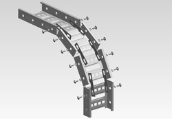 External Bend Cable Tray