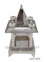 Pure Silver Om/Swastik Hatri