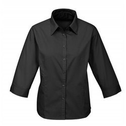 Cotton Plain Ladies Corporate Shirt